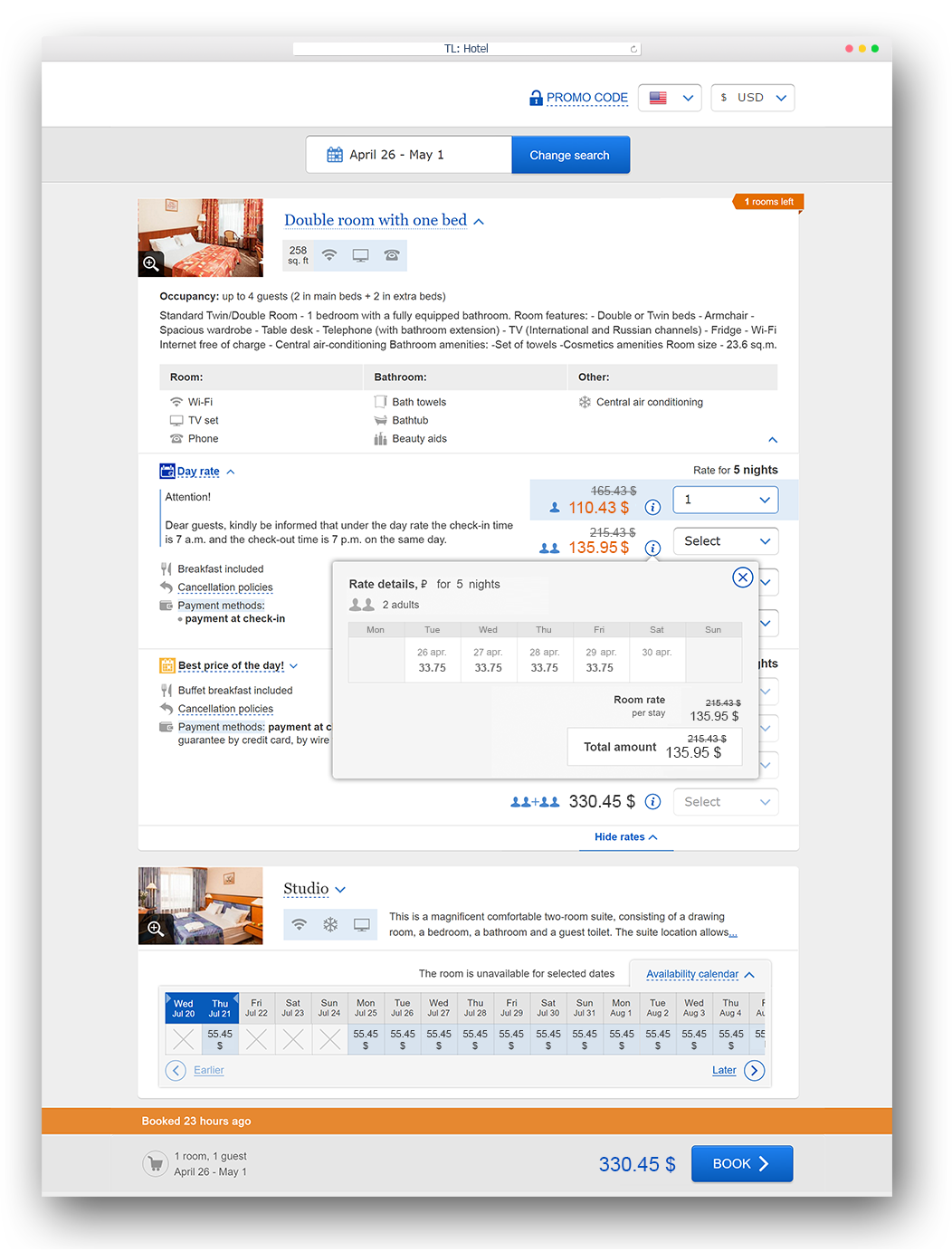 TravelLine booking engine for hotels  Boost your direct sales!